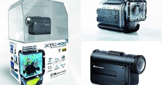 Caméra Midland Full-HD avec partage en WI-FI : mieux que la GoPro ?