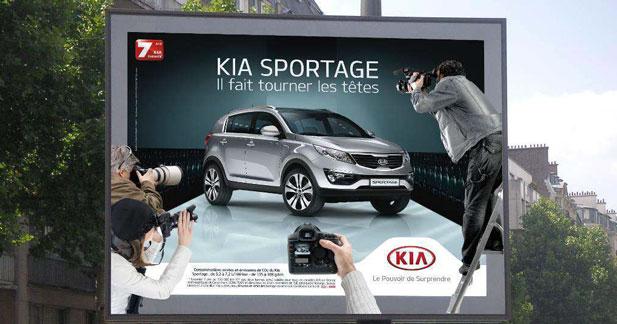 Le Kia Sportage se prend pour une star de la mode