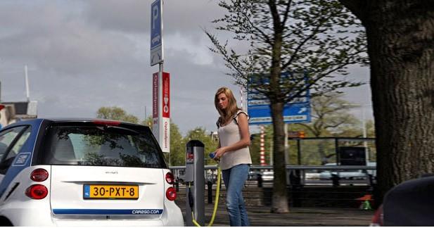 Louez une Smart électrique lors de vos vacances à Amsterdam