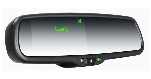 ABC Multimedia Systems présente un rétroviseur Bluetooth à commande vocale