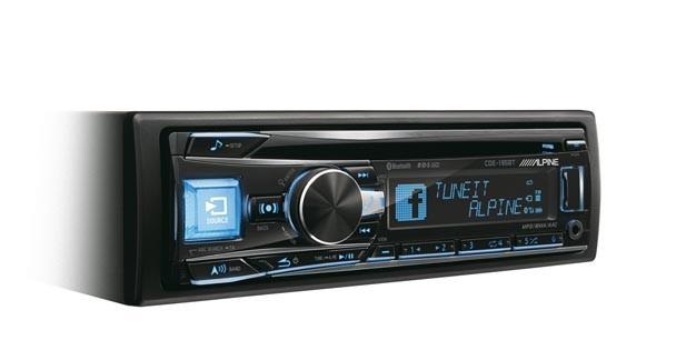 Un nouvel autoradio laser hi-fi chez Alpine