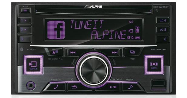 Un nouvel autoradio laser 2 DIN chez Alpine