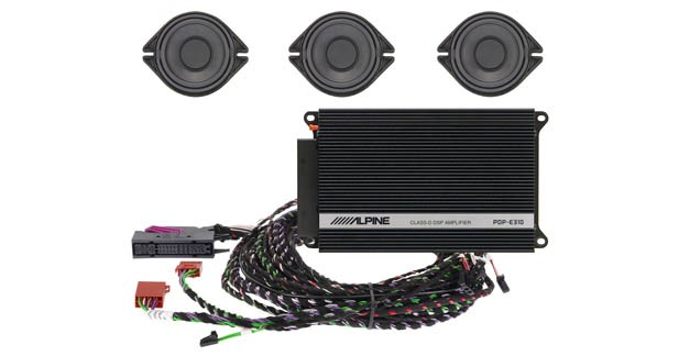 Alpine propose un système hi-fi pour Audi A4, A5 et Q5
