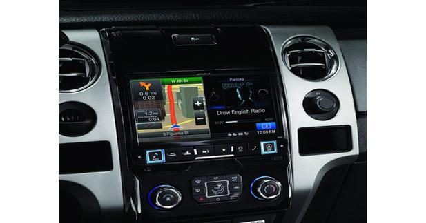 Alpine USA propose une nouvelle station multimédia spécifique pour le Ford F-150