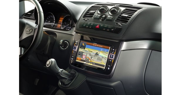 Alpine dévoile un autoradio spécifique pour les Mercedes Vito et Viano