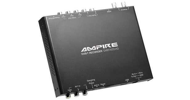 Ampire propose un tuner TNT haut de gamme avec enregistreur USB