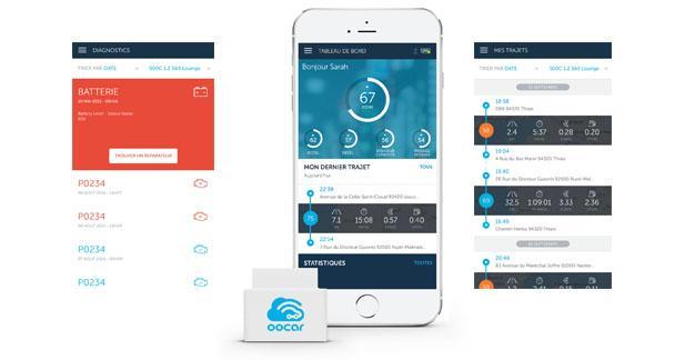 Oocar une application connectée pour réduire le coût d'usage de son véhicule