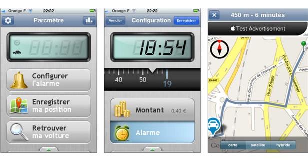 Parcmètre Assistant : une application pour éviter de dépasser le temps de stationnement