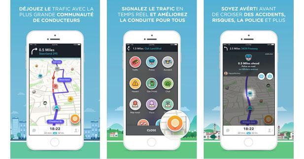 Waze dévoile une nouvelle version de son application sur iPhone