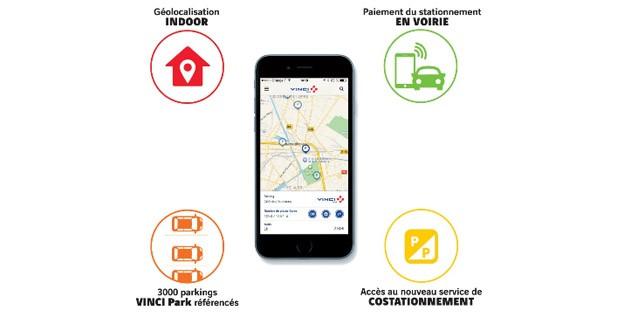 L'application My Vinci Park adopte des nouveaux services