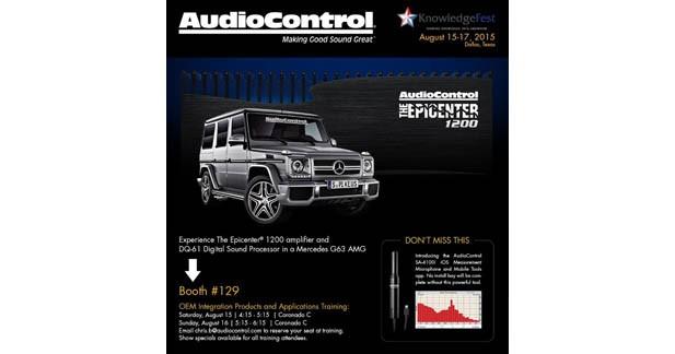 Audio Control présente une nouvelle version de son application iPhone