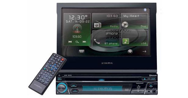 Audiovox présente un nouvel autoradio multimédia à écran motorisé
