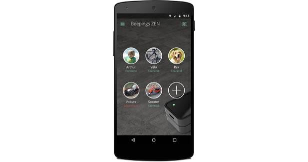 Une application Smartphone pour gérer plusieurs Zen