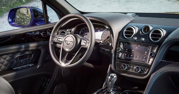 En matière d'électronique embarquée, la Bentley Bentayga sort le grand jeu