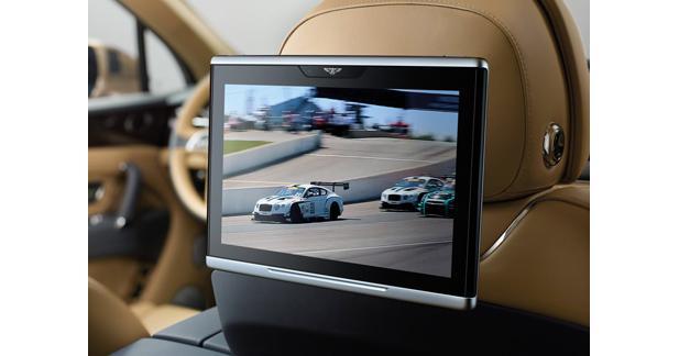 Un écran tactile de 10,2 pouces sous Android pour les passagers arrière