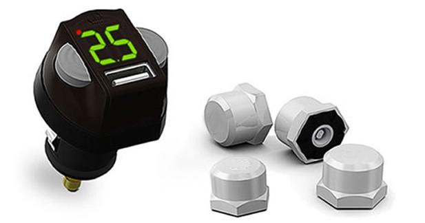 CA-FI propose un système universel de surveillance de la pression des pneus