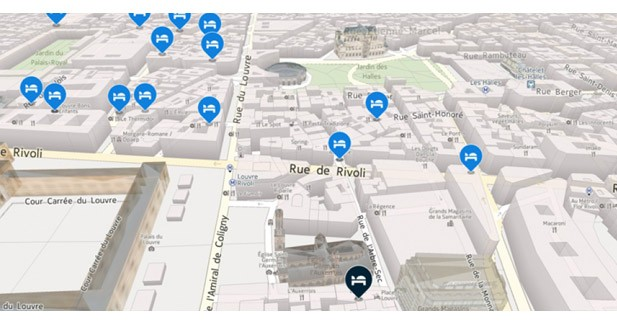 Les nouveaux véhicules font appel à Here pour la cartographie de leur GPS