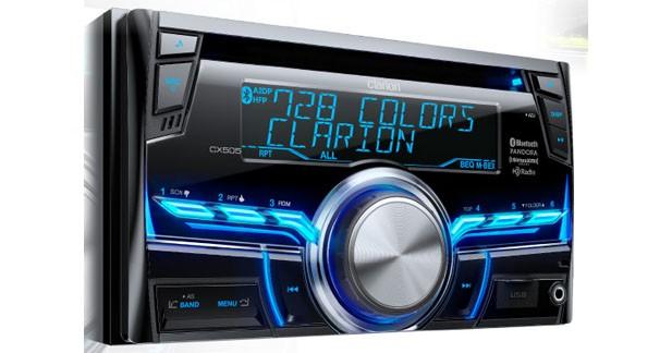 Clarion présentait un nouveau double DIN audio au CES 2015