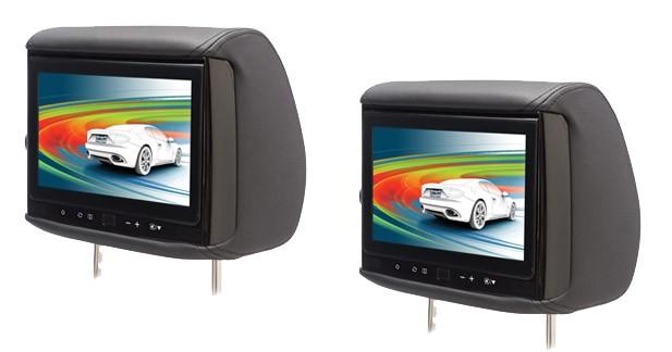 Un appui-tête vidéo avec écran HD et entrée HDMI chez Conceptbuy