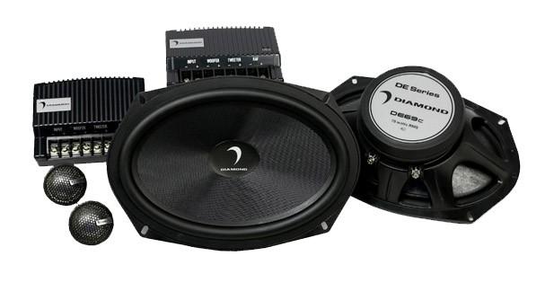 Un kit deux voies en 6x9 pouces chez Diamond Audio