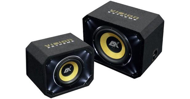 ESX présente une nouvelle gamme de caissons bass-reflex