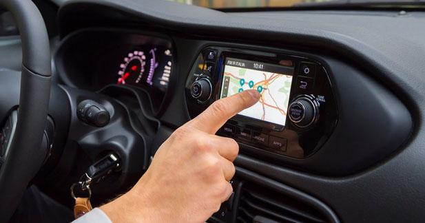 La nouvelle Fiat Tipo adopte un système multimédia relativement complet
