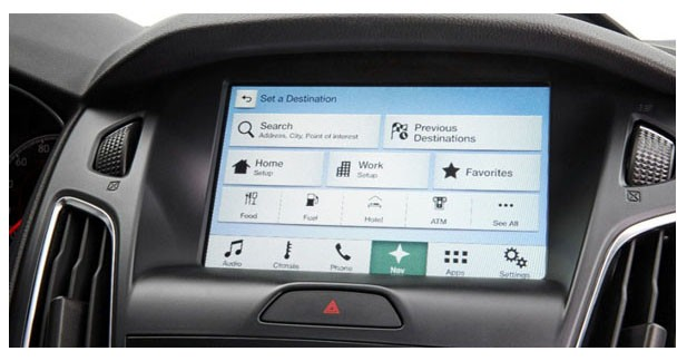 Les Ford vont adopter un nouveau système multimédia Sync 3