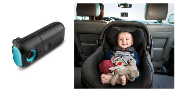 Garmin propose une caméra permettant au conducteur de surveiller son bébé