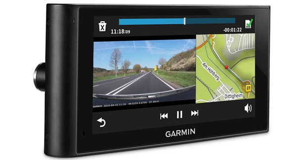 Garmin présente le premier GPS poids lourds avec dashcam intégrée