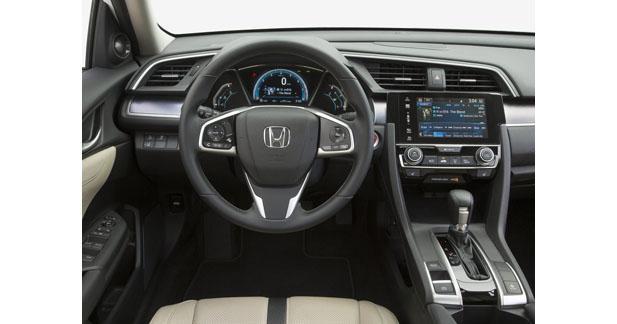 Honda adopte un système multimédia high-tech sur la nouvelle Civic Sedan