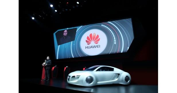 Huawei annonce un partenariat avec Audi pour la voiture connectée