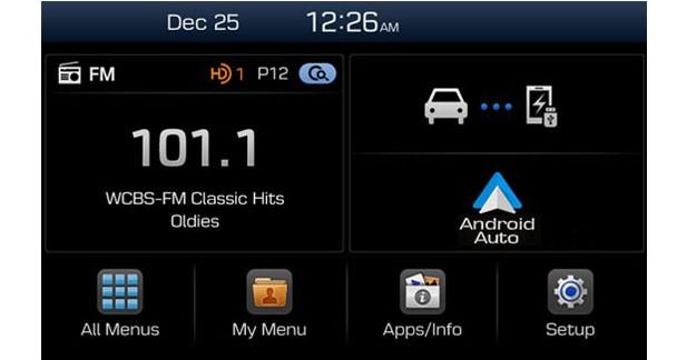 Hyundai abandonne le lecteur CD au profit de la connectivité sur ses prochains autoradios