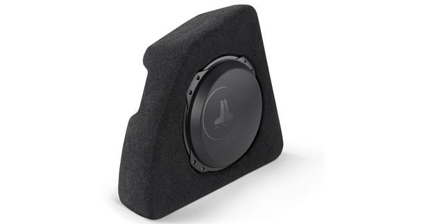 JL Audio propose un caisson de grave spécifique pour la Fiat 500
