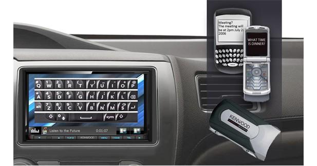 Kenwood dévoile une station multimédia compatible avec les téléphones d'avant 2007