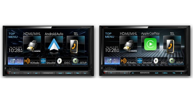 une station multim dia compatible android auto et carplay chez kenwood. Black Bedroom Furniture Sets. Home Design Ideas