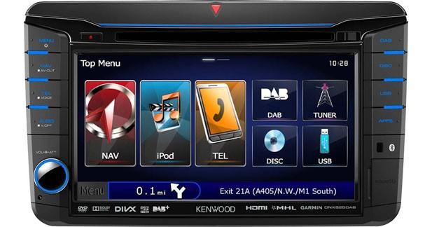 Un combiné multimédia spécial VW, Seat et Skoda chez Kenwood