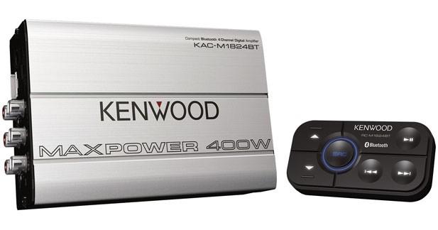 Kenwood présentait son premier ampli Bluetooth au CES 2015