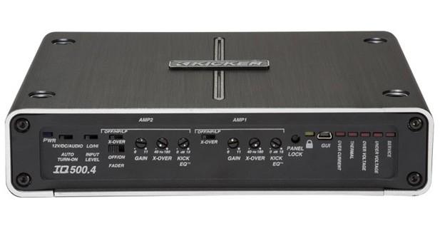 Kicker dévoilait une nouvelle gamme d'amplificateurs au CES 2015