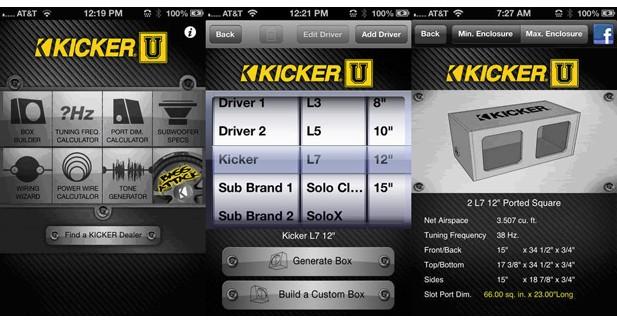 Kicker présente une nouvelle application d'aides pour les passionnés de son