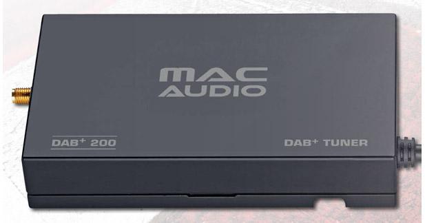 Le Mac 420 peut être complété par un tuner DAB