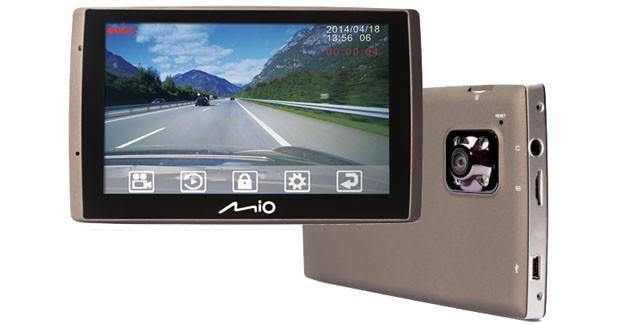Mio présente un navigateur portable avec caméra intégrée