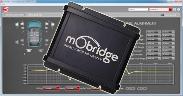 MObridge présente un nouveau DSP permettant de changer les amplis d'origine