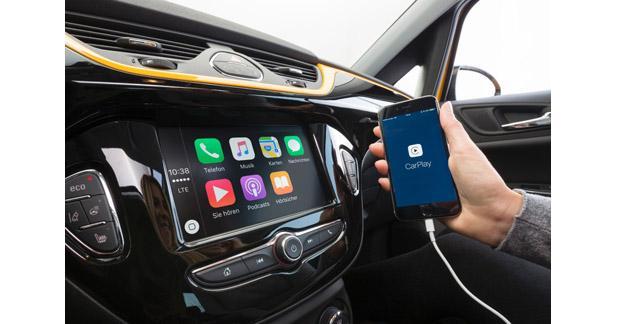 L'Opel Corsa s'équipe d'une station multimédia intégrant le CarPlay et Android Auto