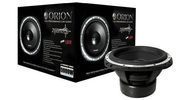 Les nouveaux subs XTR Pro d'Orion utilisent les technologies des modèles HCCA