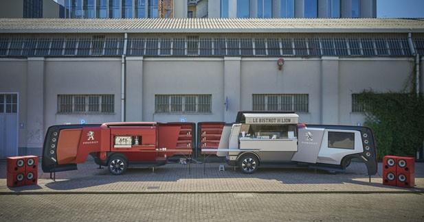 Le Peugeot Foodtruck s'équipe en Focal