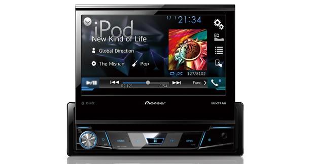 Pioneer présente un nouvel autoradio vidéo 1 DIN