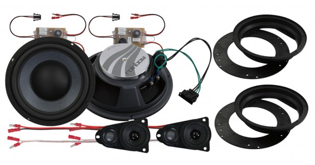 Rainbow propose des HP « plug and play » pour le VW T5