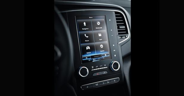 La Renault Mégane 2 adopte le R-Link 2 avec écran vidéo en mode portrait