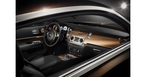 Rolls Royce Wraith Inspired By Music adopte un système hi-fi de 1300 Watts
