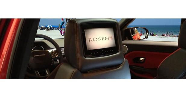 Rosen présente de nouveaux appuie-tête vidéo avec entrée HDMI